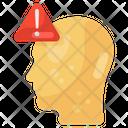 Mind Alert Brain Alert Alert Icon