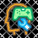 Game Joystick Repair Icon