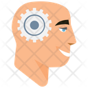 Mind Gears Mind Brainstorming Icon