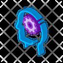 Cogwheel Gear Mechanism Icon