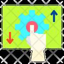 Gear Mind Brain Icon