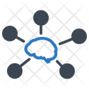 Memory Share Mind Map Brain Icon