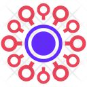 Mind Map Seo Plan Icon
