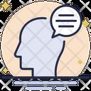 Mind Message Icon