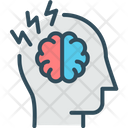 Mind Power Performance Brain Icon