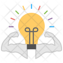 Mind Power Intelligence Icon