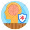 Mental Protection Mind Safety Neuro Safety Icon