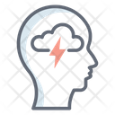 Brainstorming Mindset Creative Brain Icon