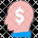 Mindset Money Mind Icon