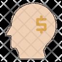 Mindset Money Financial Icon