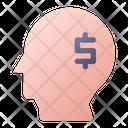Mindset Financial Idea Icon