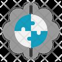 Mindset Think Jigsaw Icon