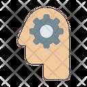 Mindset Motivated Process Icon