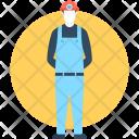 Mine Worker Labour Icon