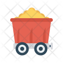 Mine Rock Construction Icon