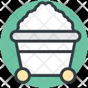 Mine Cart Gold Icon