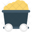 Minecart Coal Cart Mine Trolley Icon