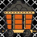 Mine Cart Mining Cart Cart Icon