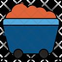 Mine Cart Coal Mine Mine Trolley Icon
