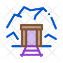 Mine Entrance Mining Icon