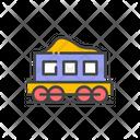 Mine Train Train Goods Train Icon