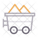 Mine Coal Construction Icon