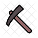 Mine Trowel Mine Hammer Digging Tool Icon