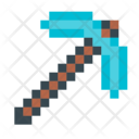 Minecraft pickax Icon