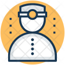 Miner Mine Worker Icon