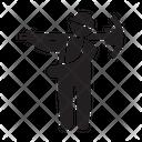 Miner Axe Mining Icon