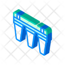Water Treatment Factory Icon
