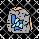 Minerals Stone Color Icon