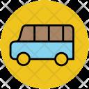 Mini Bus Wagon Icon