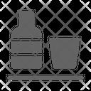 Minibar Drink Hotel Icon