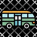 Minibus Public Transport Icon