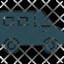 Coach Mini Bus Transport Icon