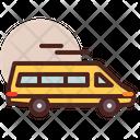 Bus Mini Bus Mini Van Icon