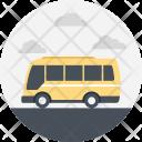Passenger Minibus Transport Icon