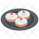 Mini Cakes Cupcakes Bakery Food Icon