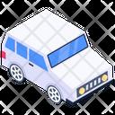 Mini Car Drive Sedan Icon