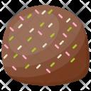 Creamy Birthday Round Icon