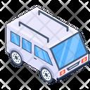 Minibus Minivan Mini Coach Icon