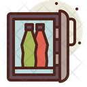 Mini Fridge Icon