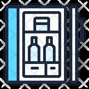 Mini Bar Mini Fridge Bar Icon