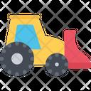 Mini Loader Worker Machine Icon