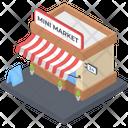 Mini Market Icon