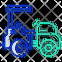 Mini Road Roller Icon