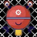 Mini Robot Icon