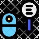 Mini Robot Search Menu Mini Icon