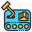 Mini Robot Fighter Icon